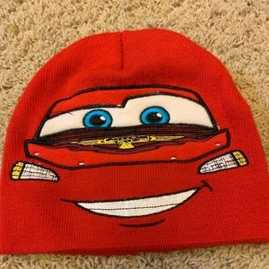***sold*****Lighting McQueen Disney Pixar beanie